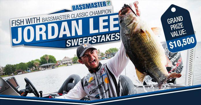 Bassmaster Fish With Jordan Lee Sweepstakes
