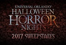 Halloween Horror Nights Sweepstakes 2017