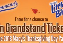 Entenmann's Macy's Thanksgiving Day Parade Sweepstakes