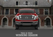 Nissan Heisman House Sweepstakes 2017