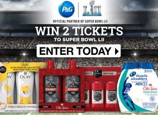 P&G Super Bowl Sweepstakes 2018 (PGFootballSweeps.com)