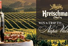 Kretschmar Napa Valley Recipe Contest & Sweepstakes