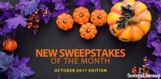 New Online Sweepstakes (October 2017)