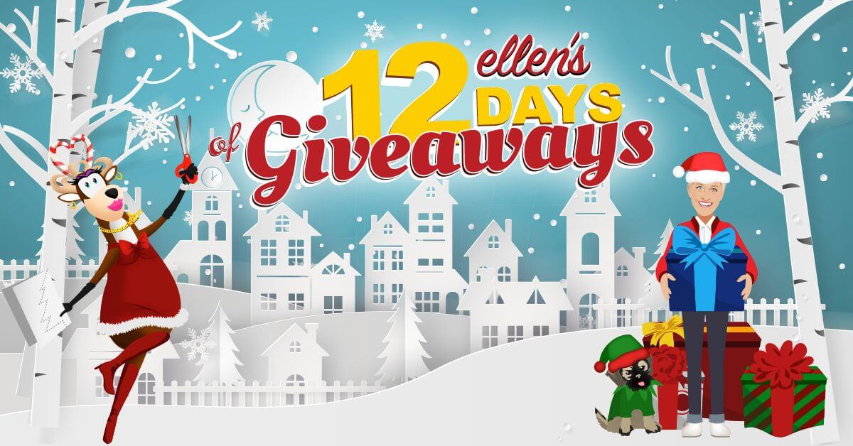 Twelve days of giveaways tickets are not usually available through this method. Unlike other shows, the Ellen show does not seem to follow a pattern on what ...