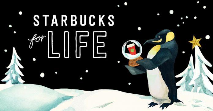 Starbucks For Life 2017
