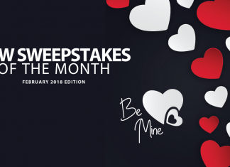 New Online Sweepstakes (February 2018)