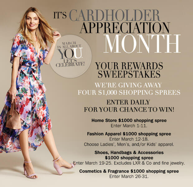 2018 Herberger's Your Rewards Sweepstakes