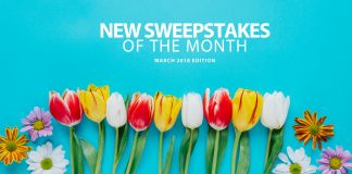 New Online Sweepstakes (March 2018)