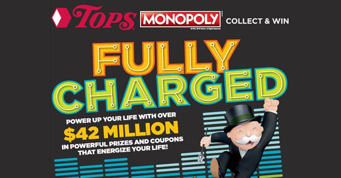 Tops Monopoly 2018 Rare Pieces