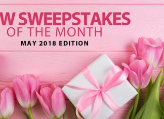New Online Sweepstakes (May 2018)