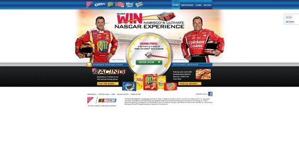 2013 Nabisco's NASCAR Racing Sweepstakes