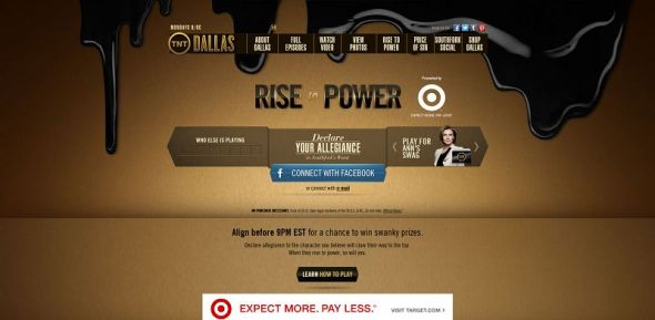 Dallas: Rise to Power Sweepstakes