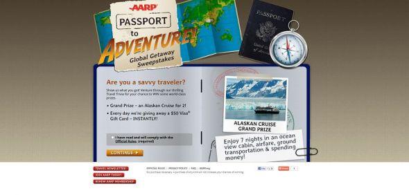 AARP Passport to Adventure! Global Getaway Sweepstakes