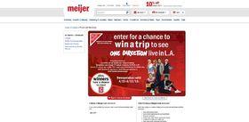 Meijer 2013 Best Summer Ever Sweepstakes