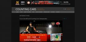 www.history.com/coke – Coca-Cola 600 and Counting Cars Sweepstakes