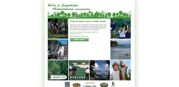Win a Superior Adventure Sweepstakes