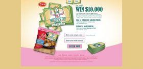 tysonmomspayday.com – Tyson Mother's Day Payday Game