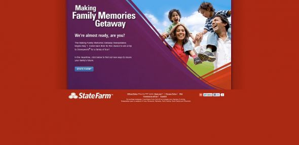 Making Family Memories Getaway Promotion