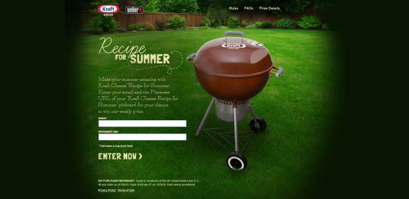 Kraft Singles Summer Grilling Sweepstakes