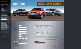 2008 GMC EVENT SWEEPSTAKES