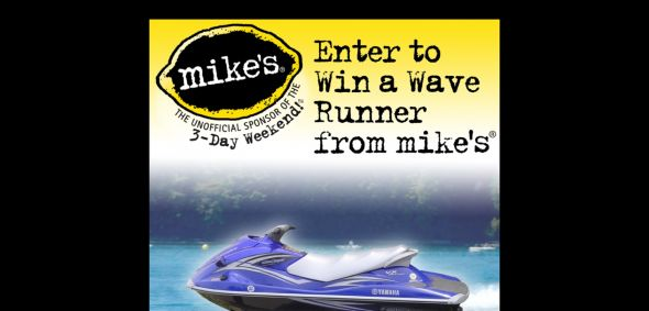 WINMIKES.COM – Mike's Wave Runner SWEEPSTAKES