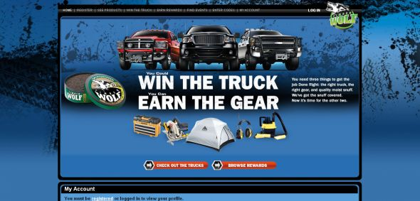 Timber Wolf – Win the Trucks Sweepstakes