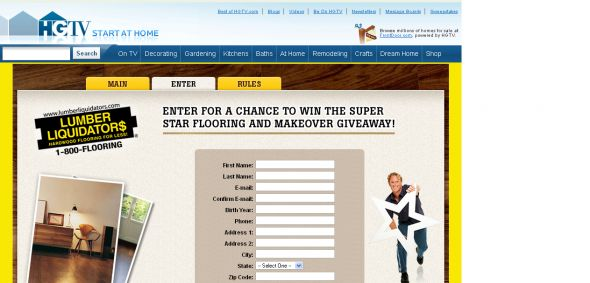Lumber Liquidators- Super Star Flooring & Makeover Getaway