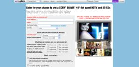 Sony Bmg Music Entertainment – MyPlay 2008 Survey Sweepstakes