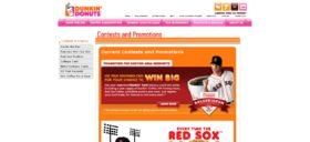 Dunkin' Donuts – Salute the Fan Card Sweepstakes