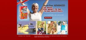 Schiff – Move Free – Advanced Do What You Want to Do $10,000 Sweepstakes