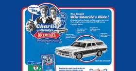 Win Charlie's Ride Sweepstakes