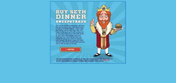 Buy Seth Dinner Sweepstakes