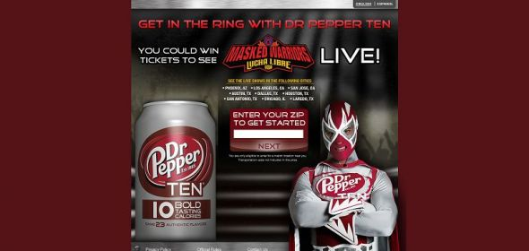 2013 Dr Pepper Lucha Libre Sweepstakes
