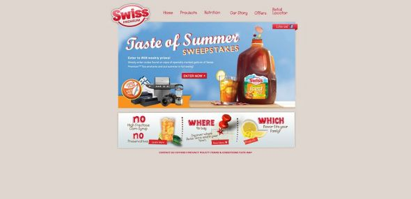 swiss-tea.com – Swiss Tea Taste of Summer Sweepstakes