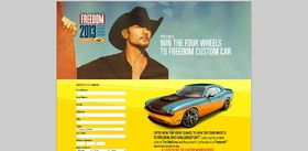 2013 Pennzoil Four Wheels to Freedom Sweepstakes