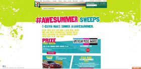 7-Eleven #AWESUMMER Sweepstakes