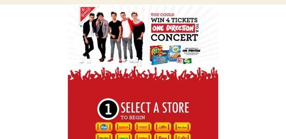 One Direction Sweepstakes