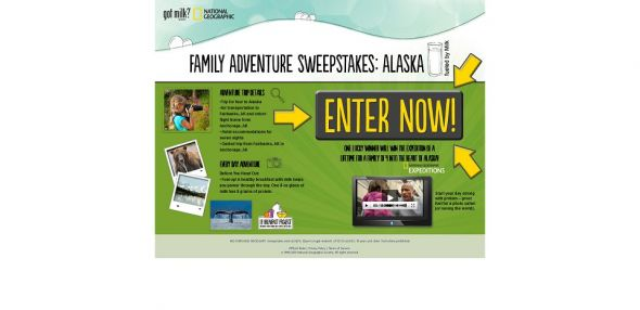 National Geographic Family Adventure Sweepstakes