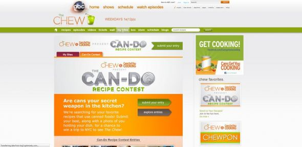 The Chew's Can-Do Contest