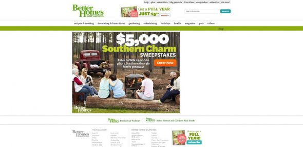 $5,000 Southern Charm Sweepstakes