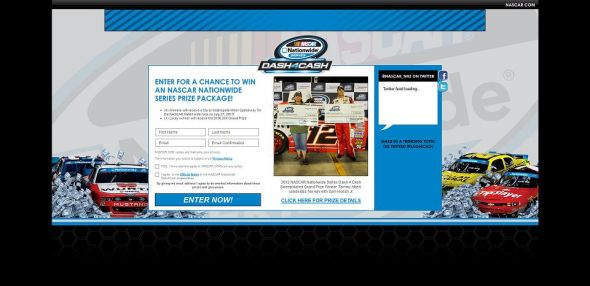 NASCAR Nationwide Series $100,000 Sweepstakes