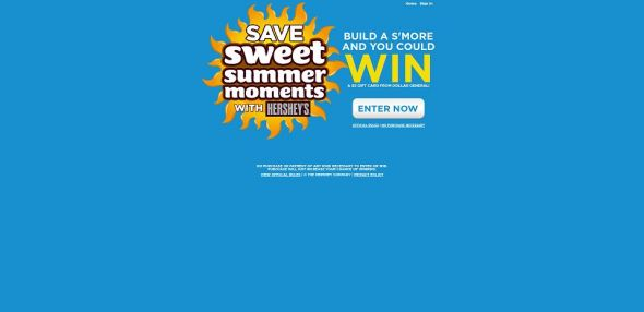HERSHEY'S Summer S'mores Instant-Win Sweepstakes