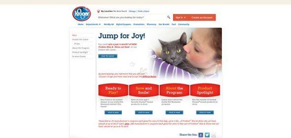 Joyful Pet Moments Instant Win Game