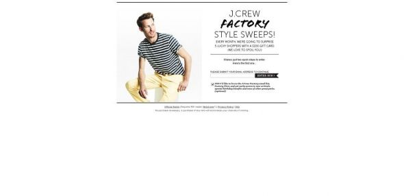 J.Crew Factory Style Sweepstakes