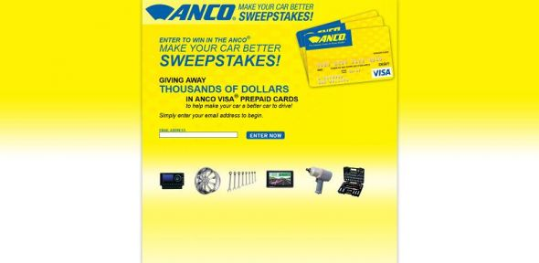 ancosweeps.com – Make Your Car Better Sweepstakes