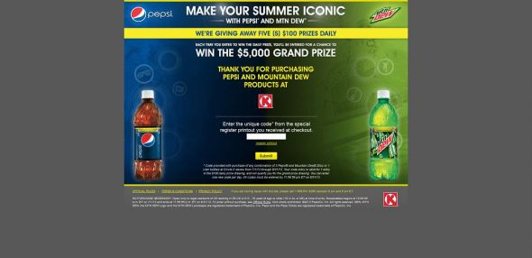 iconicsummeratcirclek.com – Pepsi Iconic Summer 2013 Sweepstakes at Circle K