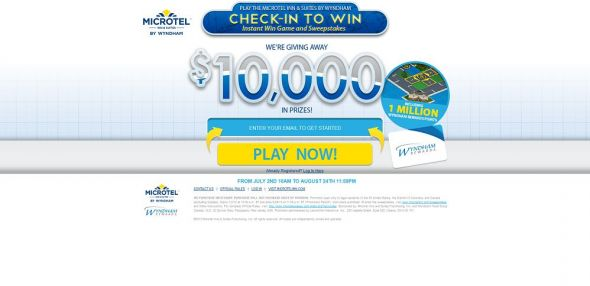 Microtel Inn & Suites by Wyndham Check-In to Win! Instant Win Game and Sweepstakes