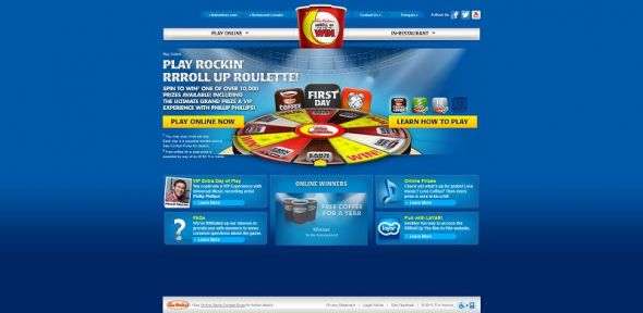 www.rolluptherimtowin.com – Roll Up the Rim to Win Online Contest