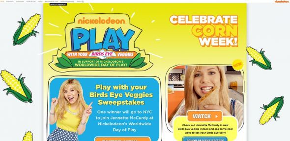 nick.com/birdseye – Play With Your Birds Eye Veggies Sweepstakes