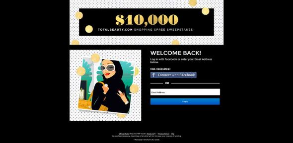 $10,000 TotalBeauty.com Shopping Spree Sweepstakes